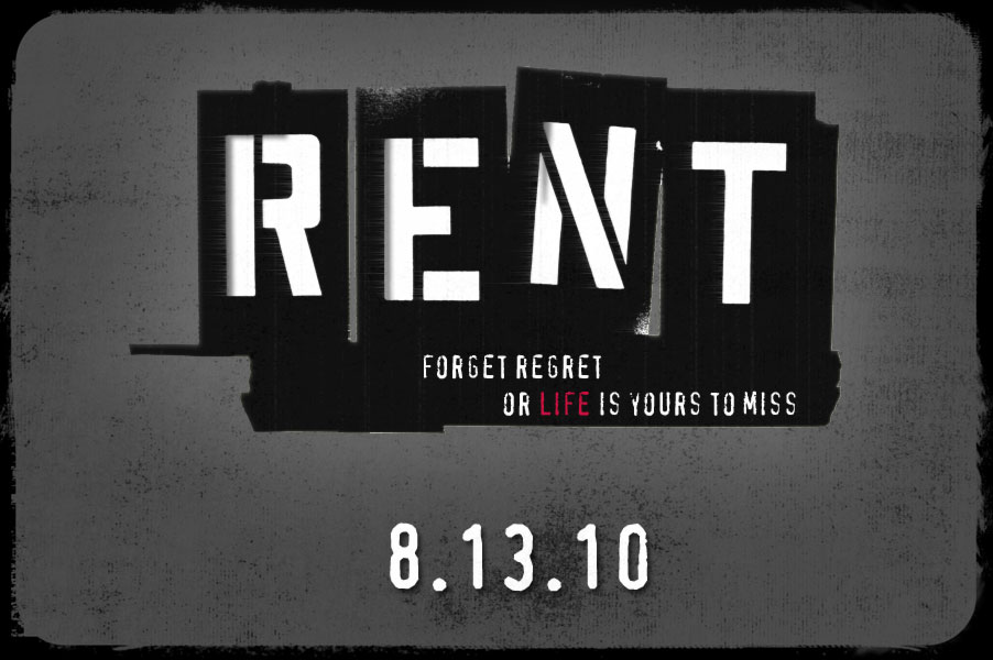 RENT Broadway musical Sonoma County 2010
